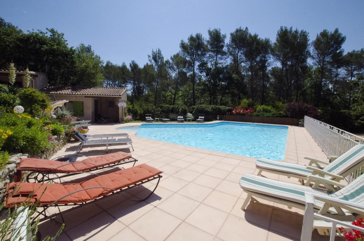 Villa victoria climatis e piscine chauff e chambre d - Chambre d hote piscine chauffee ...