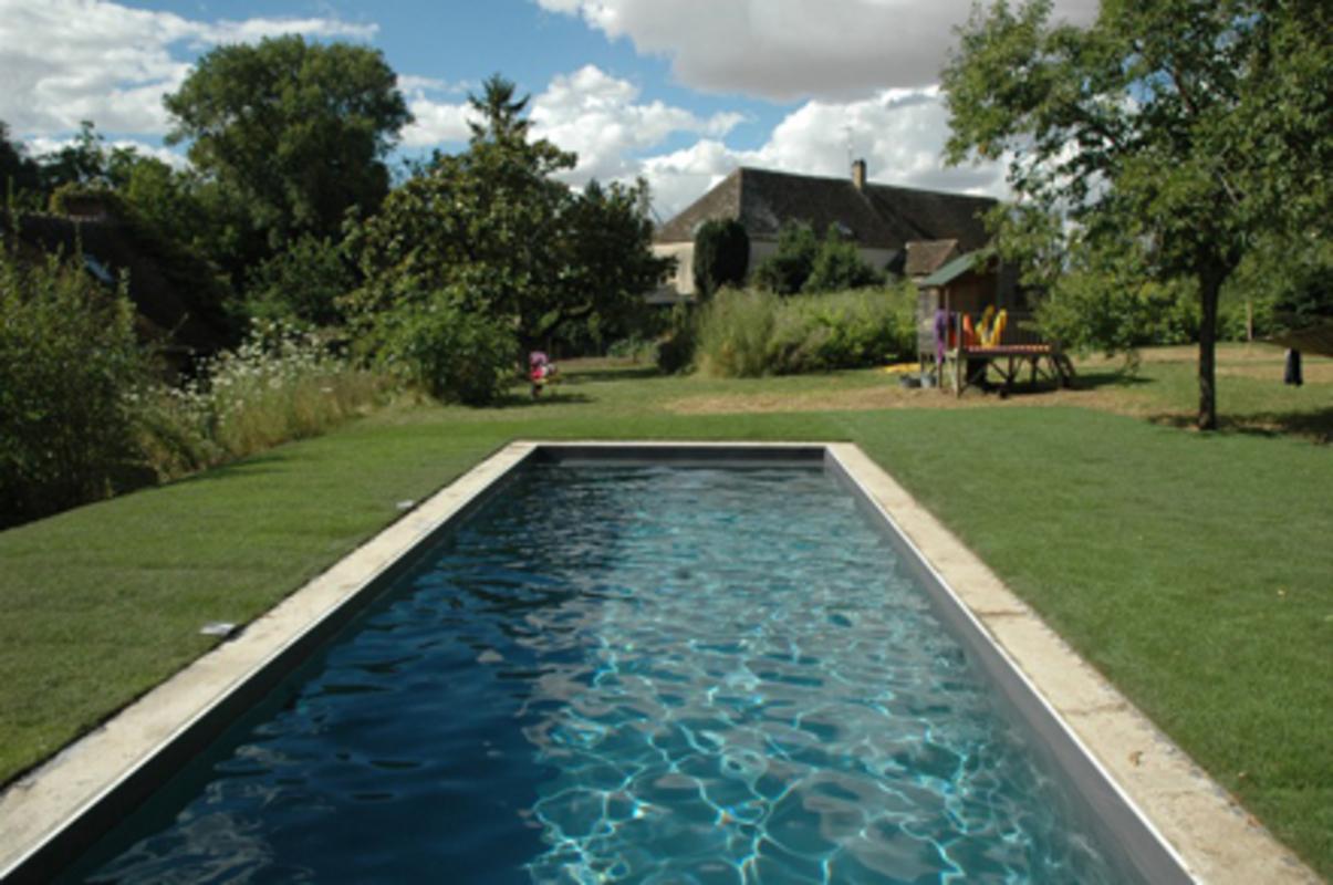 Moulin de la ronce et sa piscine ext rieure chauff e - Chambre d hote piscine chauffee ...