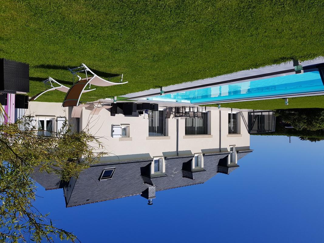 Chambres d 39 h tes breizhenson avec piscine couverte et - Chambre d hote piscine chauffee ...