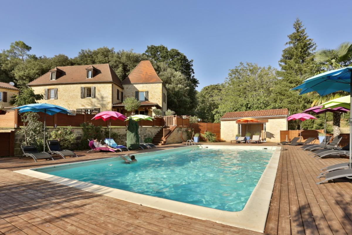 Domaine de campagnac piscine chauff e spa contact - Chambre d hote piscine chauffee ...